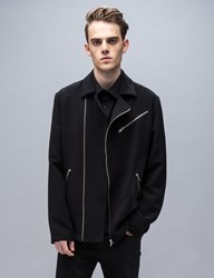 Mcq By Alexander Mcqueen Side Circle Patch Biker Jacket
