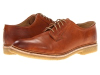Frye James Crepe Oxford Whiskey Soft Vintage Leather Men's Lace Up Casual Shoes Tan