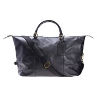 Barbour Leather Explorer Bag Black