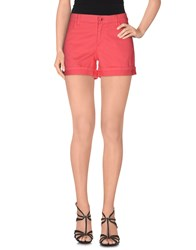 Armani Jeans Denim Denim Shorts Women Coral