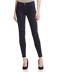 Black Orchid Amber Zip Skinny Jeans In Insomnia