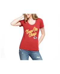 47 Brand '47 Women's Kansas City Chiefs Club Script T Shirt Red