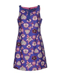 Vdp Collection Dresses Short Dresses Women Blue
