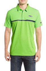 Nike Men's 'Elite Seattle Seahawks' Dri Fit Polo