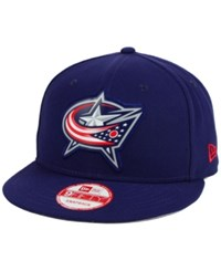 New Era Columbus Blue Jackets Bevel 9Fifty Snapback Cap Navy