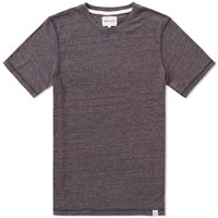 Norse Projects James Contrast Melange Tee Blue