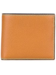 Valextra Billfold Wallet Brown