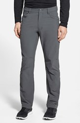 Men's Patagonia 'Quandary' Slim Fit All Season Pants Forge Grey