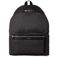 Saint Laurent Nylon Backpack Black
