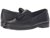 Sebago Heritage Tassel Black Oiled Waxy Leather Men's Shoes