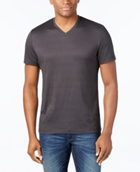 Alfani Men's Big And Tall Slim Fit T Shirt Only At Macy's Deep Black