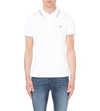 Diesel T Skin Polo Shirt White