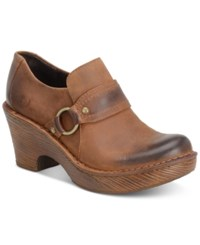 Born Ravenna Clogs Women's Shoes Rust