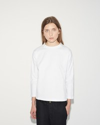 Sofie D'hoore Tickle Cotton Fleece Tee White