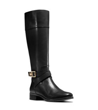 Michael Kors Bryce Two Tone Leather Boot Black
