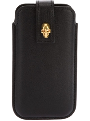 Alexander Mcqueen Phone Case Black