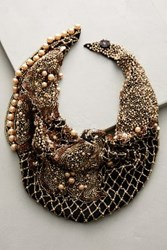 Anthropologie Le Charlot Black Scarf Necklace