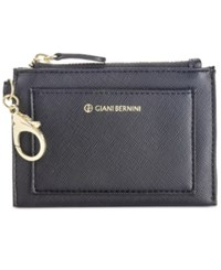Giani Bernini Saffiano Card Case And Pouch Only At Macy's Black