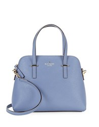 Kate Spade Maise Leather Dome Bag Oyster Blue