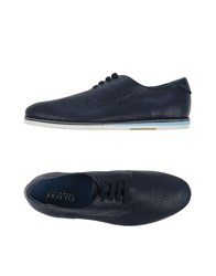Alexander Hotto Footwear Lace Up Shoes Men Dark Blue