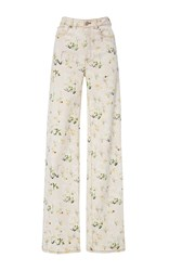Rebecca Taylor Firefly Flower Pant Pink