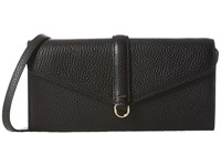 Ecco Isan Clutch Wallet Black Wallet Handbags