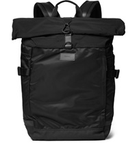 Paul Smith 531 Mesh Trimmed Shell Backpack Black
