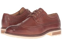 Sperry Gold Annapolis Wingtip Tan Men's Lace Up Wing Tip Shoes