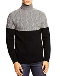 Ovadia And Sons Ovadia And Sons Half Cable Turtleneck Sweater