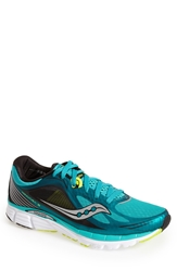 Saucony 'Kinvara 5' Running Shoe Men Teal Citron