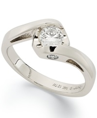 Sirena Diamond Bridal Ring In 14K White Gold 1 2 Ct. T.W.
