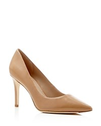 Via Spiga Pointed Toe Pumps Carola High Heel Nude