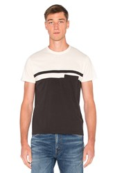 Levi's 1960'S Casual Stripe Tee Black And White