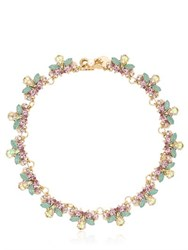 Anton Heunis Flower Swarovski Crystal Necklace