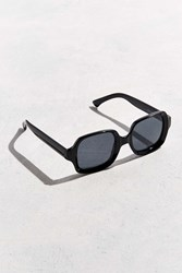 Urban Outfitters Beveled Square Sunglasses Black