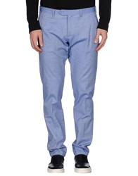Roberto Pepe Trousers Casual Trousers Men Pastel Blue