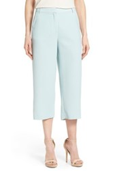 Halogen Wide Leg Cropped Pants Regular And Petite Blue