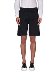 Obey Trousers Bermuda Shorts Men Black
