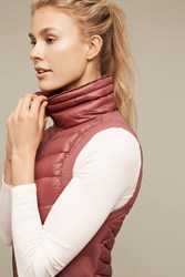 Anthropologie Altitude Puffer Vest Bright Red