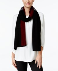 Charter Club Cashmere Colorblocked Scarf Only At Macy's Crantini Combo