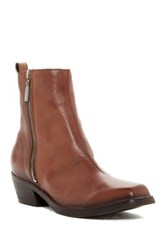 Diesel Square Toe Yousston Bootie Brown