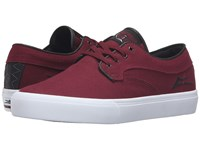 Lakai Riley Hawk Port Canvas Men's Skate Shoes Red