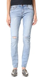 One Teaspoon Blue Fox Hoodlums Jeans