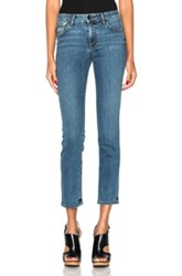 Helmut Lang Ankle Skinny In Blue