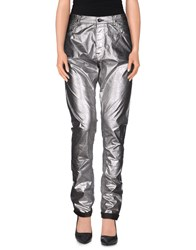 Drkshdw By Rick Owens Trousers Casual Trousers Women Silver