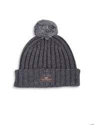 Ugg Ribbed Knit Wool Blend Beanie