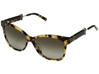 Marc Jacobs 130 S Spotted Havana Brown Gradient Lens Fashion Sunglasses