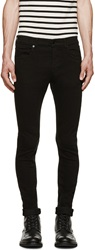 Mcq By Alexander Mcqueen Black Skinny Jeans