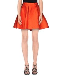 Iceberg Skirts Mini Skirts Women Orange