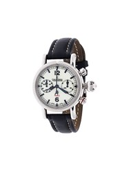 Chronoswiss 'Timemaster Flyback' Analog Watch White